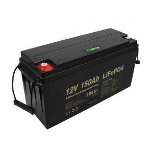 ღრმა ციკლის დატენვის Lifepo4 ბატარეა 12v 150Ah 200Ah 250Ah 300Ah
