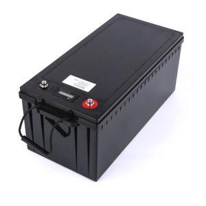 მორგებული ბატარეის პაკეტი 24V 100AH 12v 200ah lifepo4 ბატარეის პაკეტი ნავის მზის ენერგიის შესანახად RV