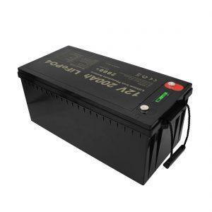 ახალი დიზაინის მრავალჯერადი დატენვის აკუმულატორების შენარჩუნება LiFePO4 12V 200Ah ლითიუმის იონის უფასო ბატარეები