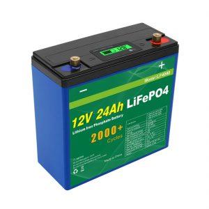 Solar Deep Cycle 24v 48v 24ah Lifepo4 Battery Pack UPS 12v 24ah Battery