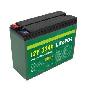 OEM აკუმულატორის დატენვა 12V 30Ah 4S5P Lithium 2000+ Deep Cycle Lifepo4 Cell მწარმოებელი
