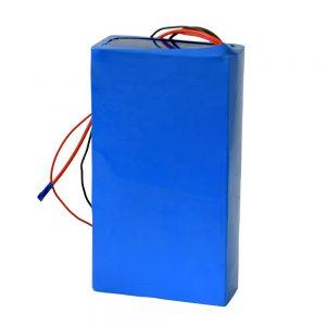 დატენვის 60v 12ah ლითიუმის ბატარეა ელექტრო სკუტერისთვის