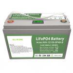 ყველაფერი ერთ ღრმა ციკლში 12V100Ah LiFePO4 ბატარეა ინტელექტუალური BMS საყოფაცხოვრებო ენერგიის შესანახი სისტემისთვის