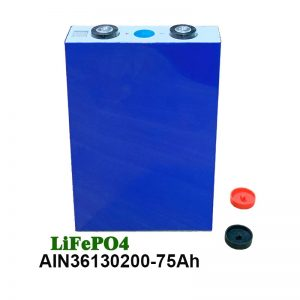LiFePO4 Prismatic Battery 36130200 3.2V 75AH