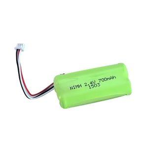 NiMH დატენვის ბატარეა AA700 2.4V