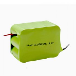 NiMH დატენვის ბატარეა SC 2400mAH 14.4V