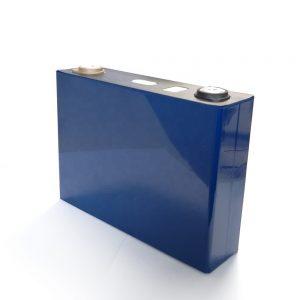 ღრმა ციკლი 3.2V 100Ah ლითიუმის LiFePo4 ელემენტის ელემენტი მზის პანელისთვის