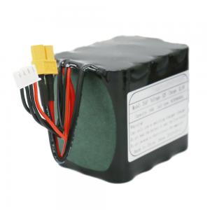 მრავალჯერადი დატენვის 18650 ელემენტის უჯრედები 3S4P Li-ion Battery Pack 11.1V 10Ah Solar Led ნათურისთვის