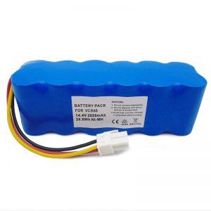 მაღალი ხარისხის 14.4v შემცვლელი მტვერსასრუტის აკუმულატორი navibot SR8750 DJ96-00113C VCA-RBT20