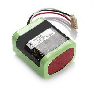 Beston Scooba Mint5200B 7.2V 3Ah ჩანაცვლება მრავალჯერადი დატენვის Ni-MH ელემენტის პაკეტი iRobot მტვერსასრუტისთვის